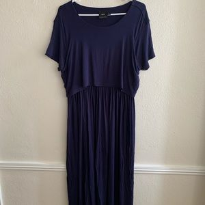 MATERNITY/NURSING ASOS maxi dress